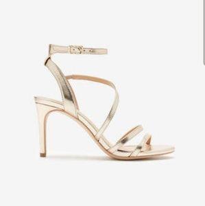 Shoes - Express Gold heels